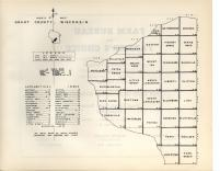 Index Map, Grant County 1948